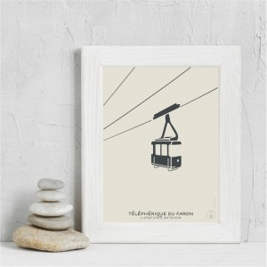 Faron Cable Car Poster