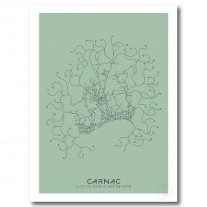 Carnac Affiche Plan