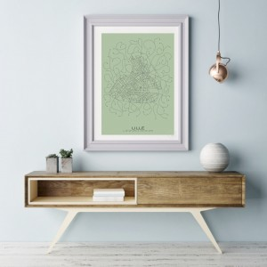 Lille City Map Poster