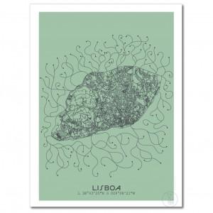 paris city map poster. Black Bedroom Furniture Sets. Home Design Ideas