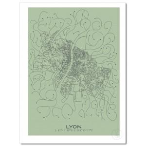 Lyon Affiche Plan