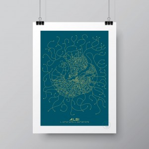 Albi Affiche Plan