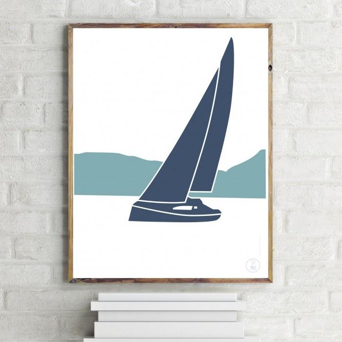 Autan Sailboat Poster