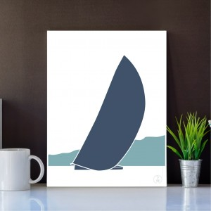 Sailboat Poster | Libeccio