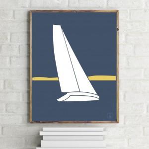 Sailboat Poster | Mistral