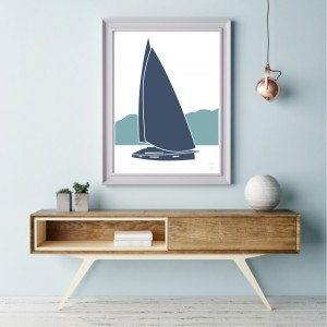 Sailboat Poster | Nordet