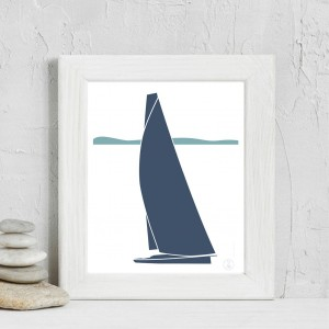 Sailboat Poster | Sirocco