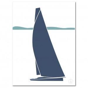Sailboat Poster | Sirocco