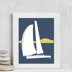 Sailboat Poster | Suroit
