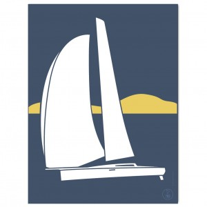 Sailboat Poster | Suroit