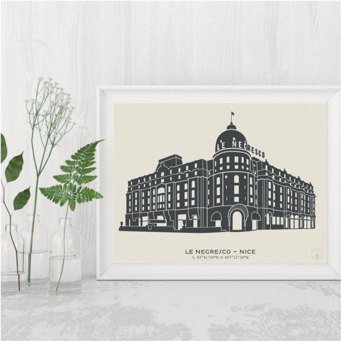 Hôtel Negresco Affiche