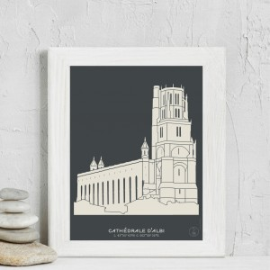 Albi Cathedral Poster