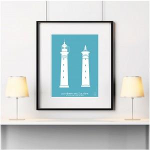 Géants de l'île d'Aix Affiche