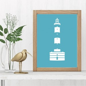 Chassiron Lighthouse Poster