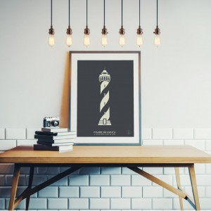 Contis Lighthouse Poster