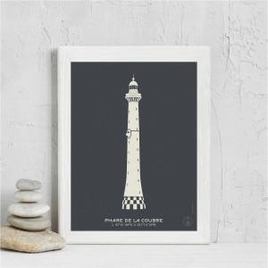 La Coubre Lighthouse Poster