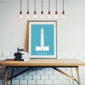 Baleines Lighthouse Poster