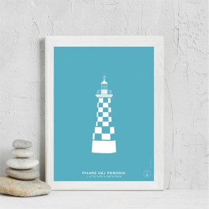 Perdrix Lighthouse Poster