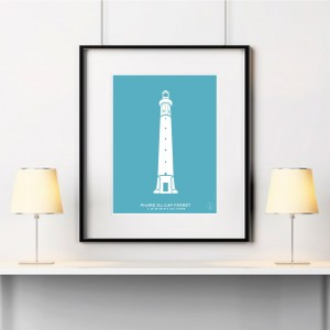 Cap-Ferret Lighthouse Poster