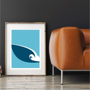 Jaws Wave Poster