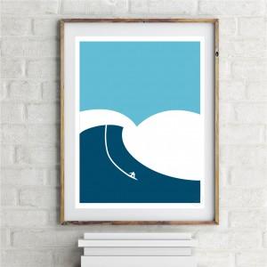 Mentawai Wave Poster