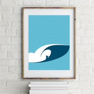 Pipeline Wave Poster
