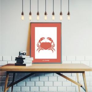 Crab Poster