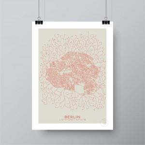 Berlin Affiche Plan