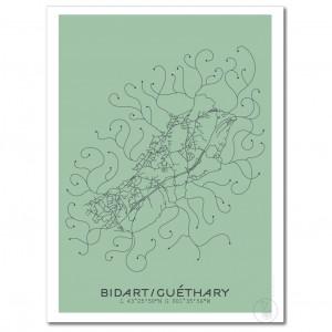 Bidart/Guéthary Affiche Plan