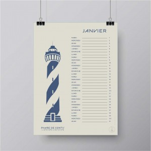 Calendar Lighthouses 2019