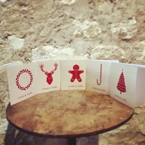 Cartes Merry Christmas
