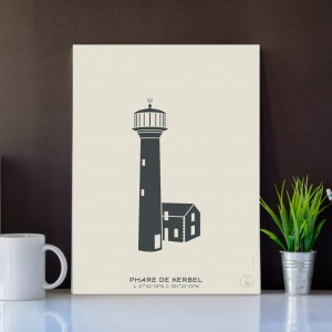 Kerbel Lighthouse Poster